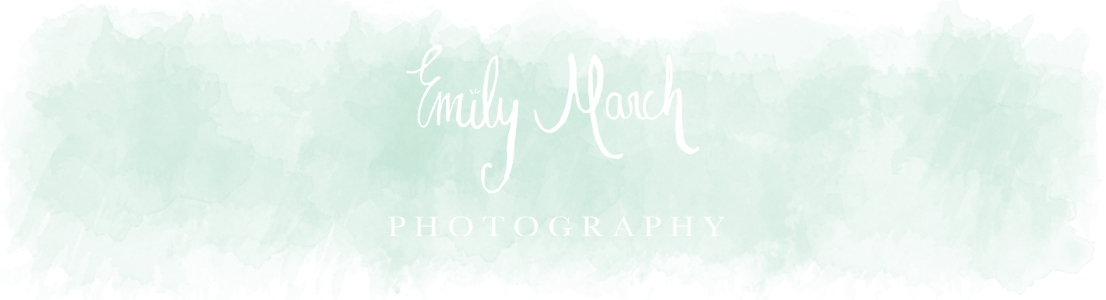 Emily March Photography Blog logo
